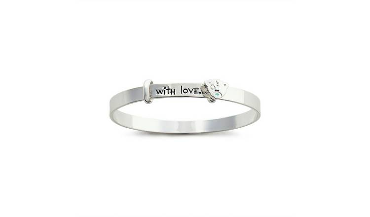 Me to you Silver Plated Christening Bangle 3-5 Years