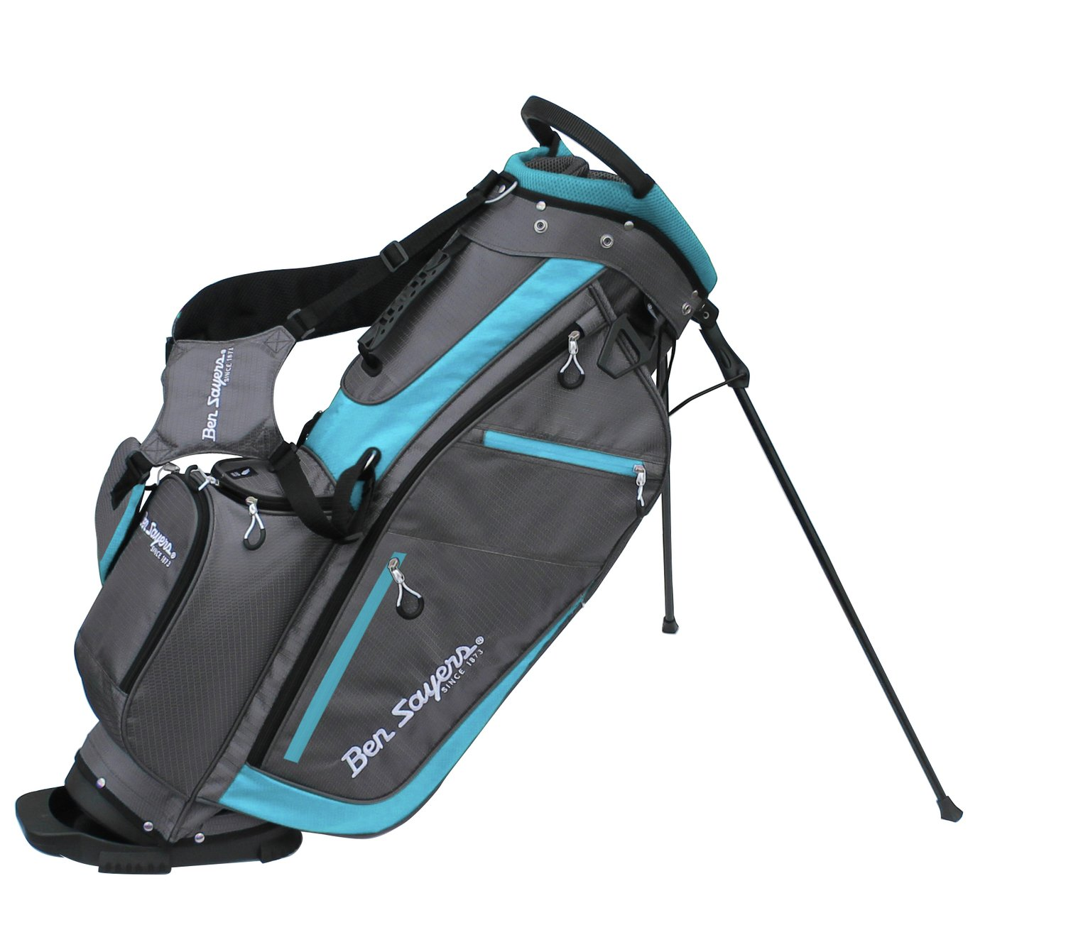 Ben Sayers XF Lite Stand Golf Bag - Turquoise