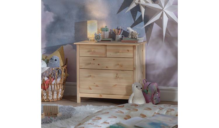 Habitat Scandinavia Kids 4 Drawer Chest - Pine