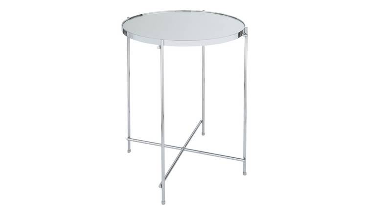 Argos Home Boutique End Table - Chrome