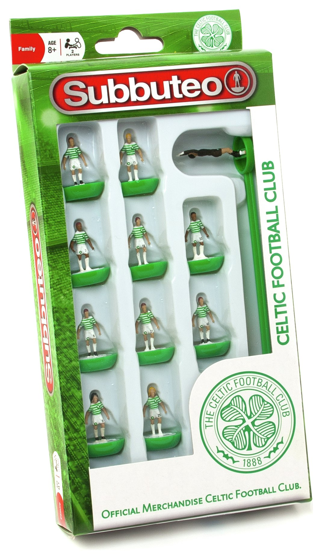 Paul Lamond Games Subbuteo Celtic Team.