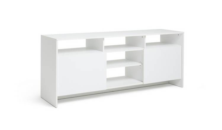 Habitat Turin 2 Door Extra Large TV Unit - White