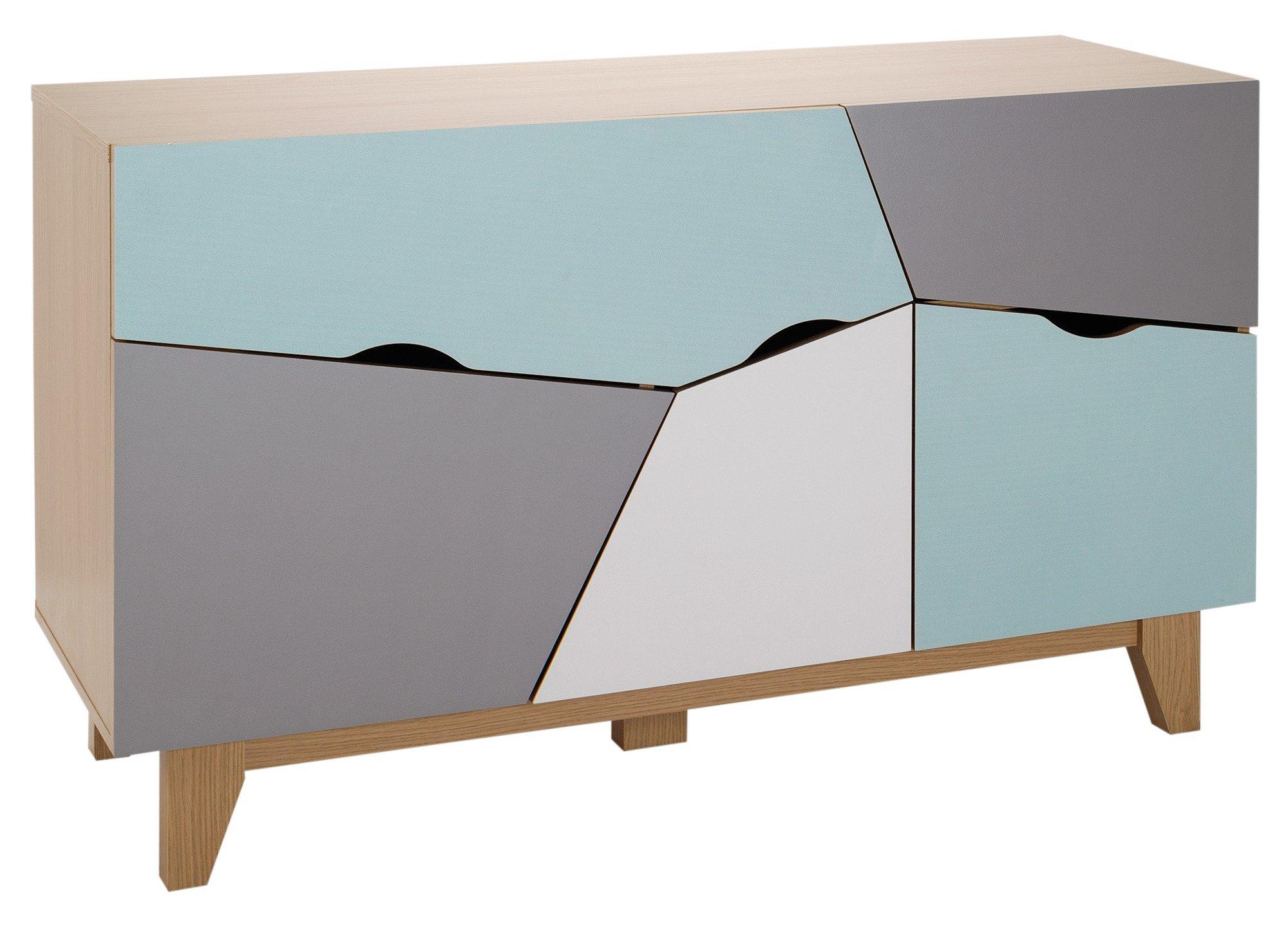 Argos Home 3 Door 2 Drawer Sideboard - Multicoloured