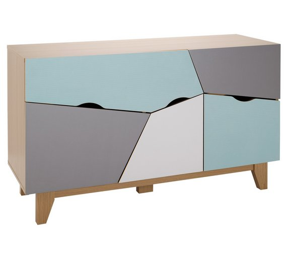 Buy Home Multicoloured Sideboard At Argos Co Uk Your