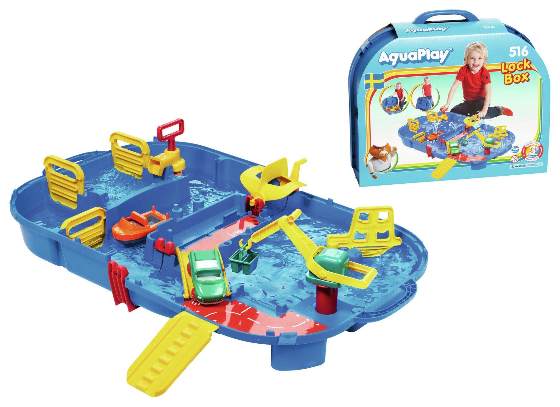 Image of Aqua Play Lock Box.