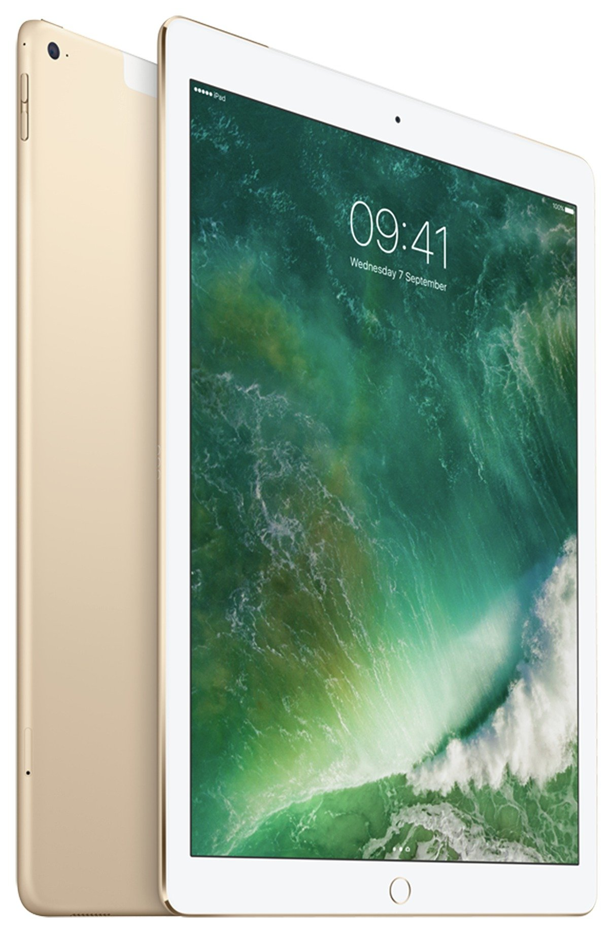 Apple iPad Pro 12 Inch Gold Tablet - 128GB. cheapest retail price