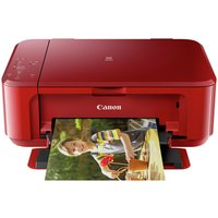 Canon Pixma MG3650 Wi-Fi All-in-One Colour Printer - Red