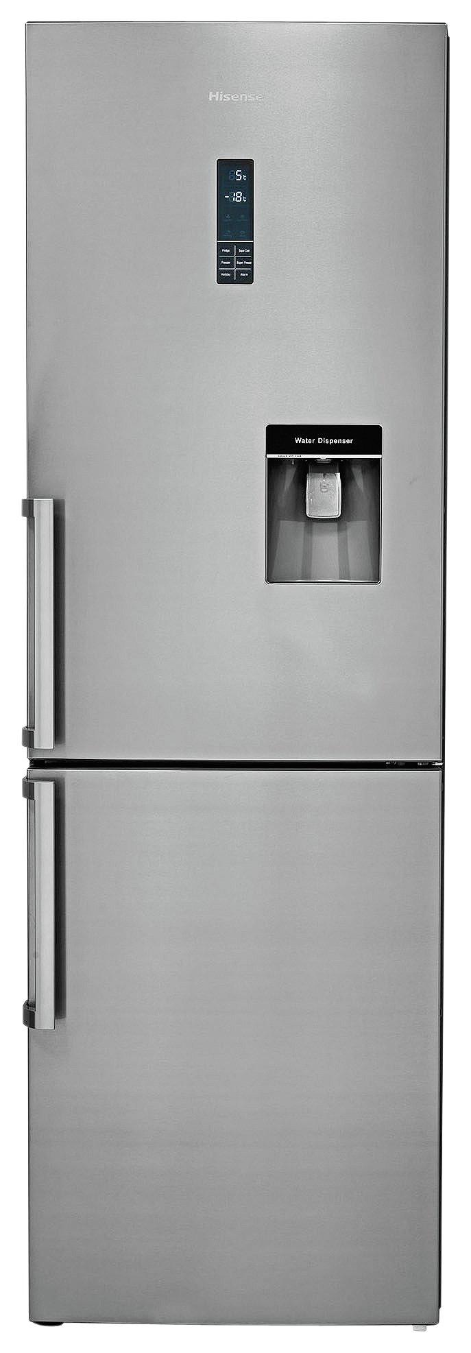 Hisense RB419N4WC1 Fridge Freezer with Water Dispenser.