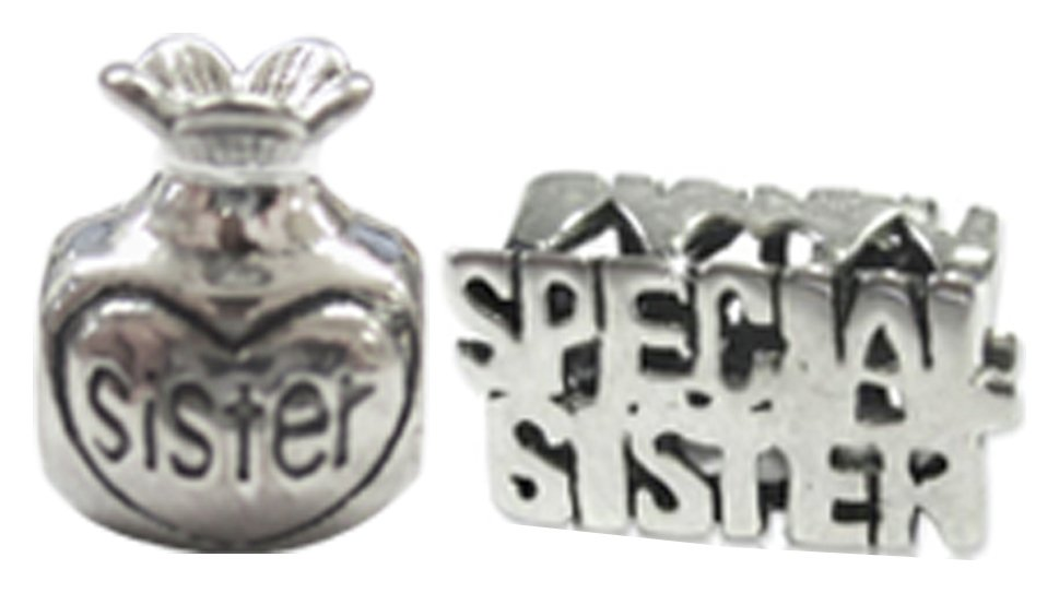 Image of Miss Glitter Silver Kid's Perfume and Special Sister Charms