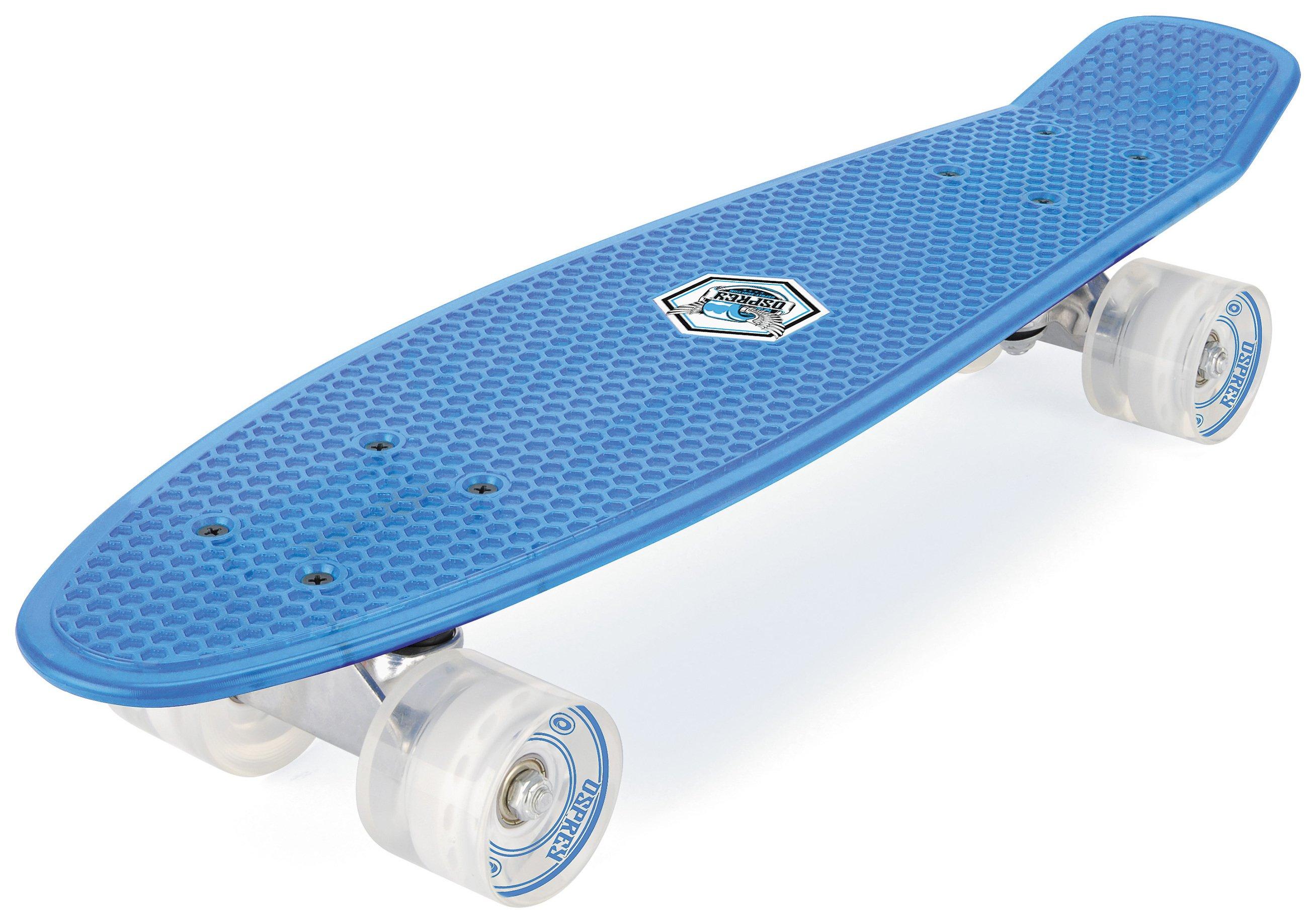 Osprey Retro PC Skateboard - Blue.