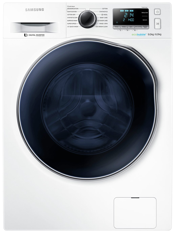 Samsung WD90J6410AWEU Washer Dryer - White.