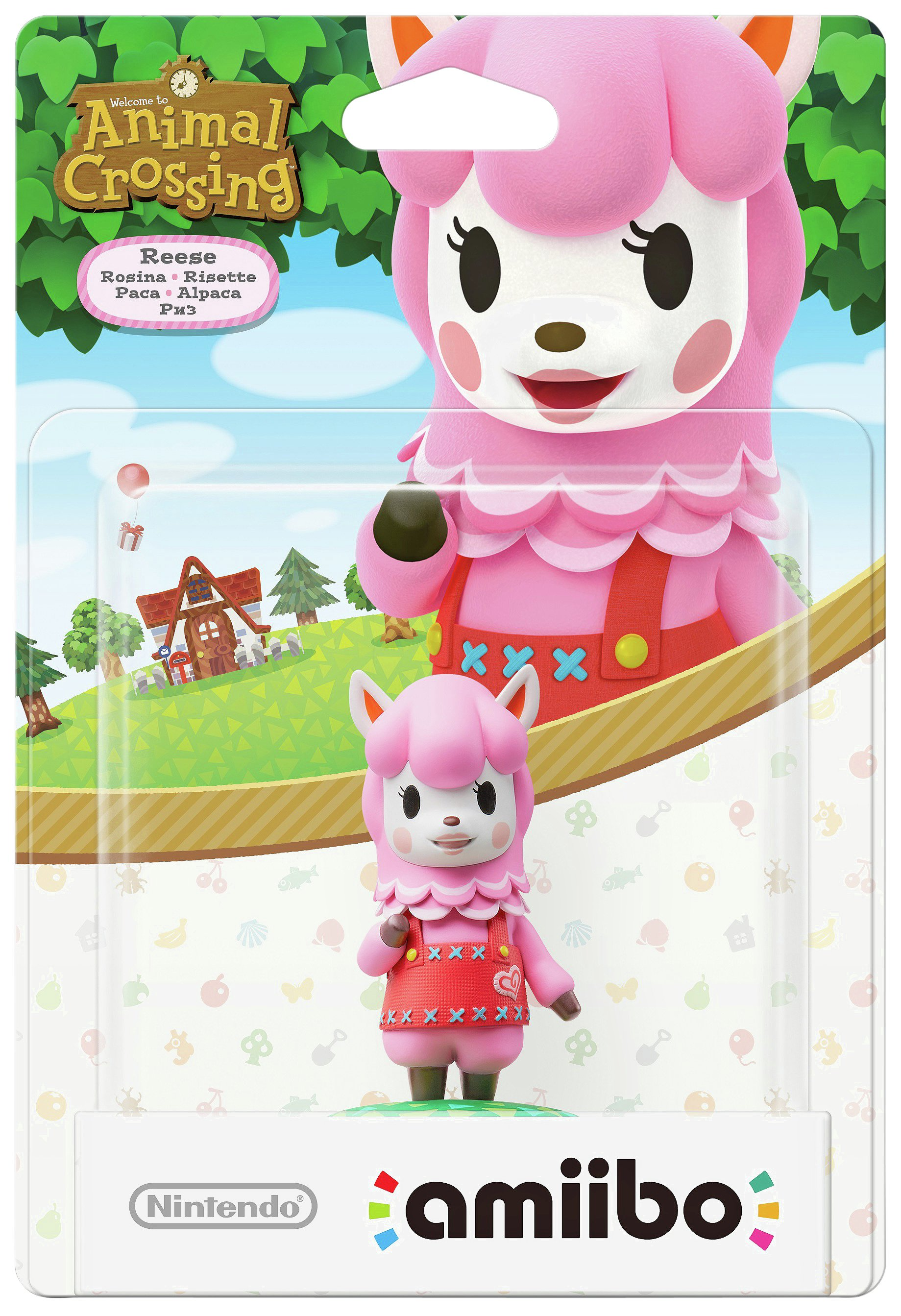 Image of amiibo Animal Crossing Figure - Reese