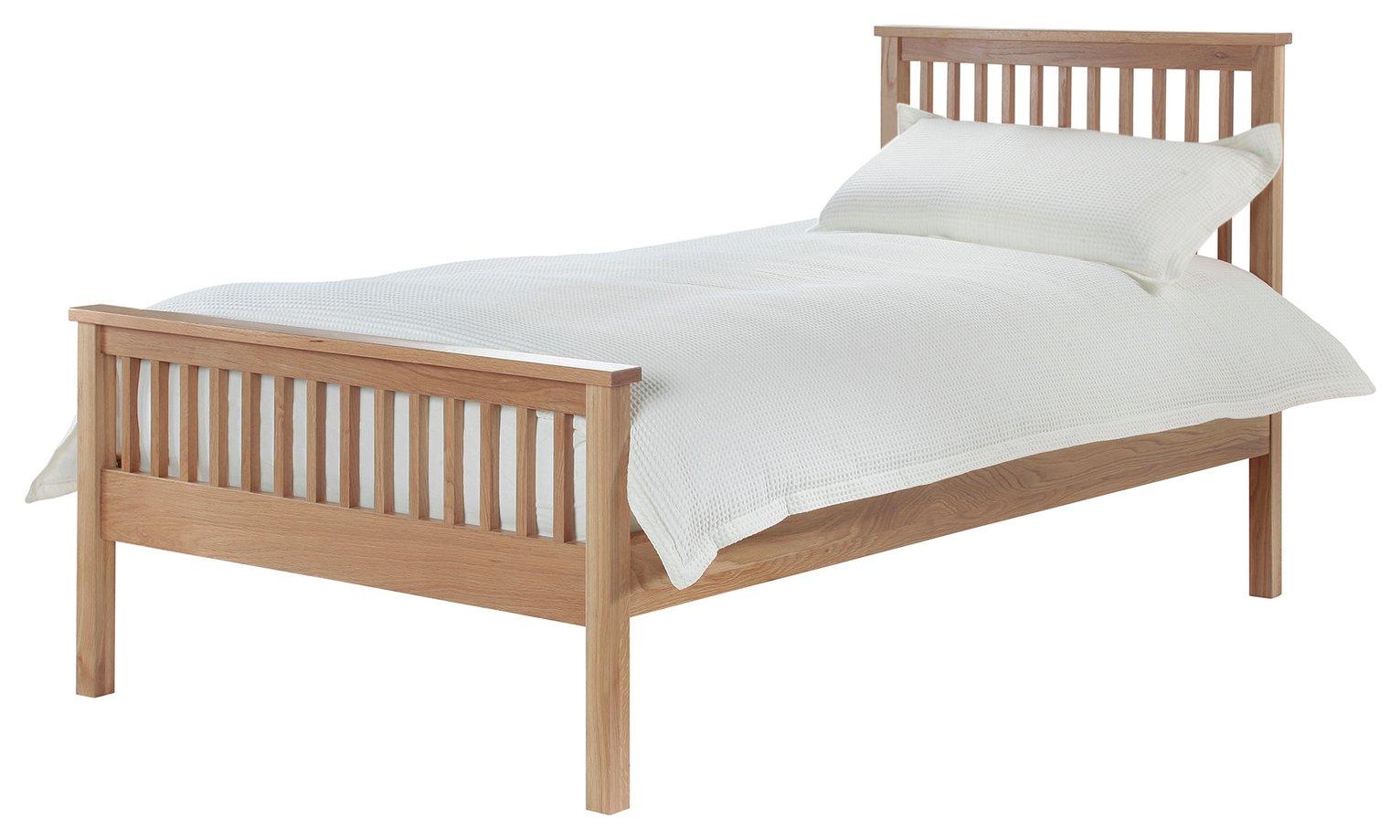 Silentnight Dakota Single Bed Frame - Natural