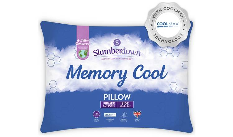 Slumberdown Cool Max Memory Support Firm Pillow