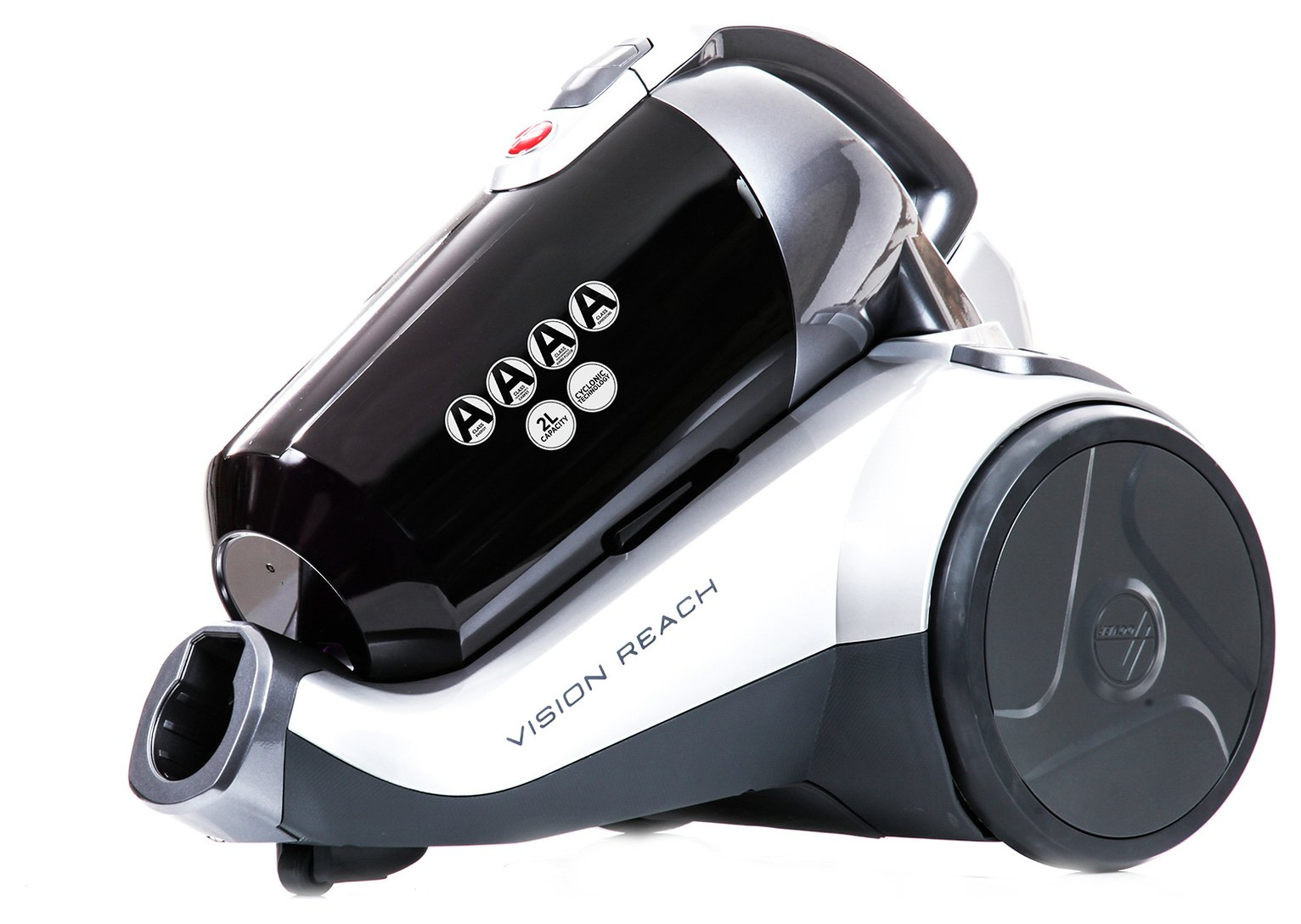 Image of Hoover - BF81VS02 Vision Reach Bagless Cylinder Vacuum Cleaner