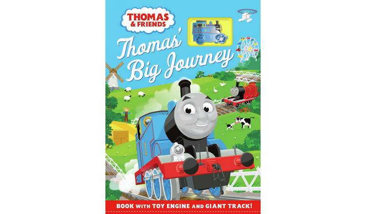 Thomas' Big Journey: Storybook with Fold-out Track Playset