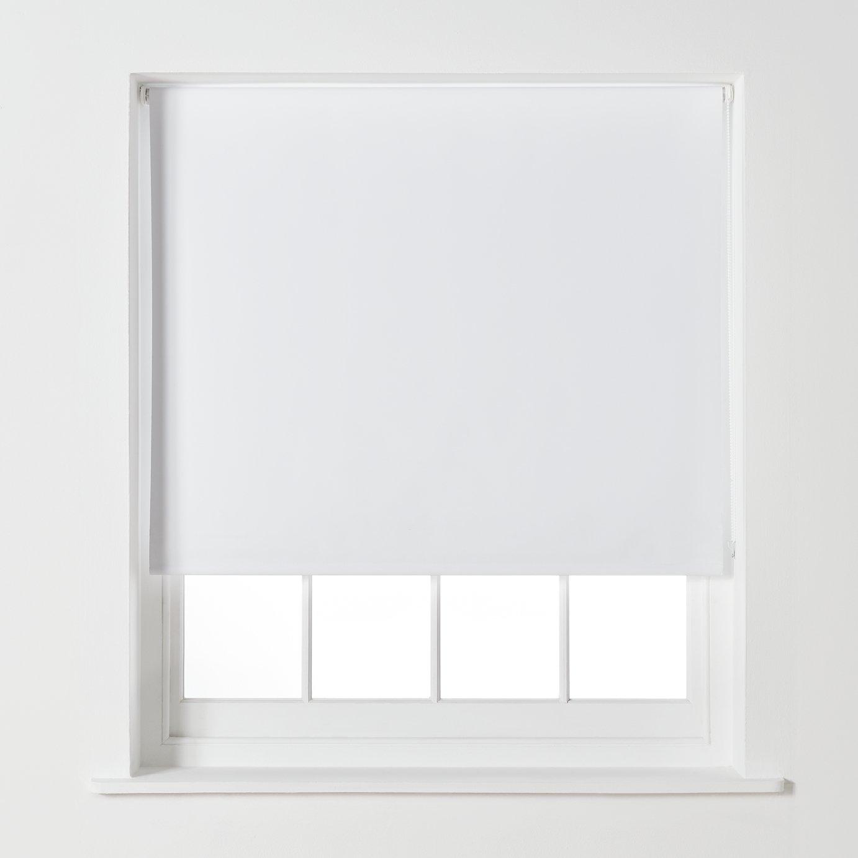 Argos Home Blackout Roller Blind - 4ft - Super White