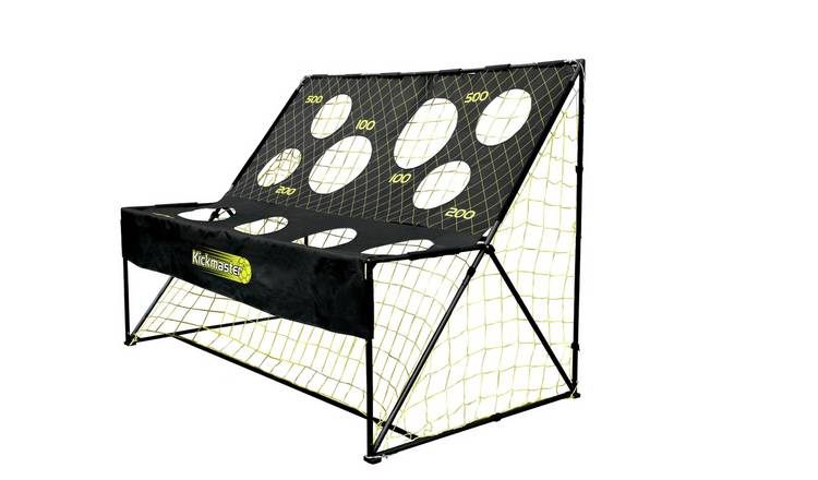 Kickmaster Football Training Arcade and 7 x 5ft Goal
