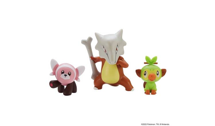 Pokemon Action Figure 3 Pack Assortment