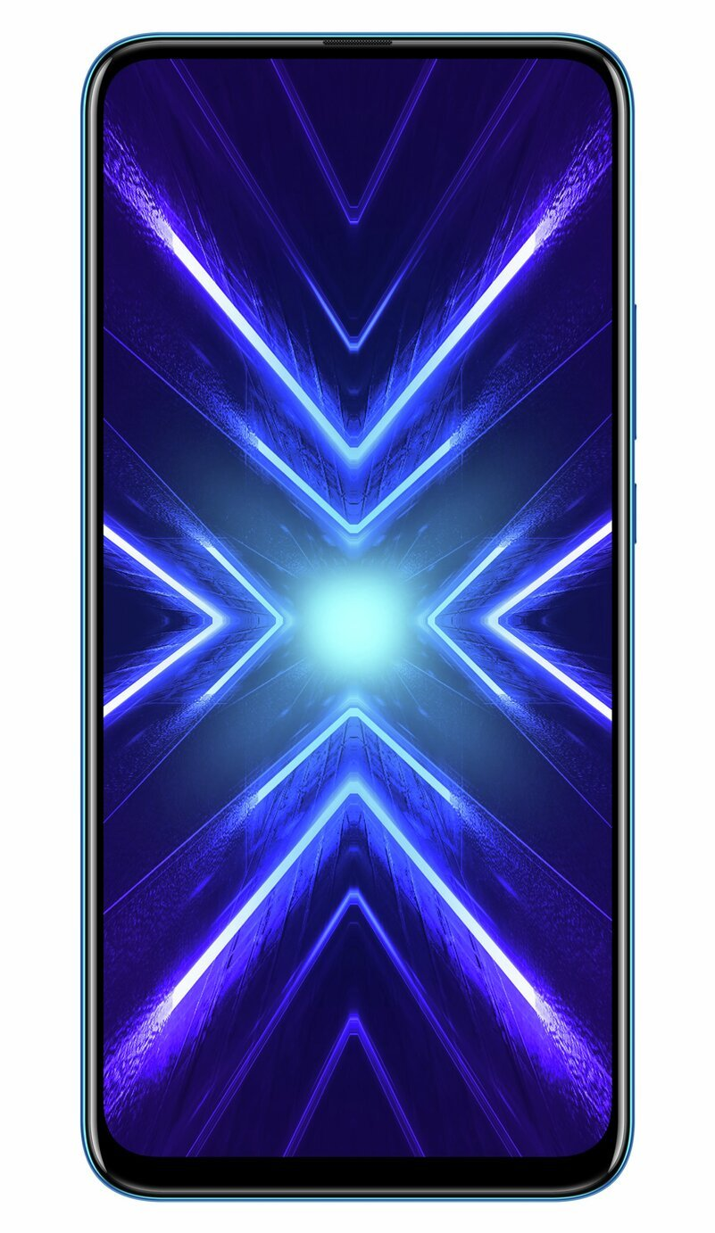SIM Free HONOR 9X 128GB Mobile Phone - Blue