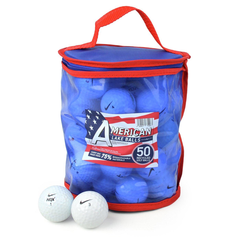 Nike Premium Grade A Lake Golf Balls - 50 Pack