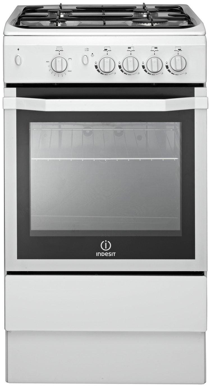 Indesit I5GGW/ Freestanding Cooker - White