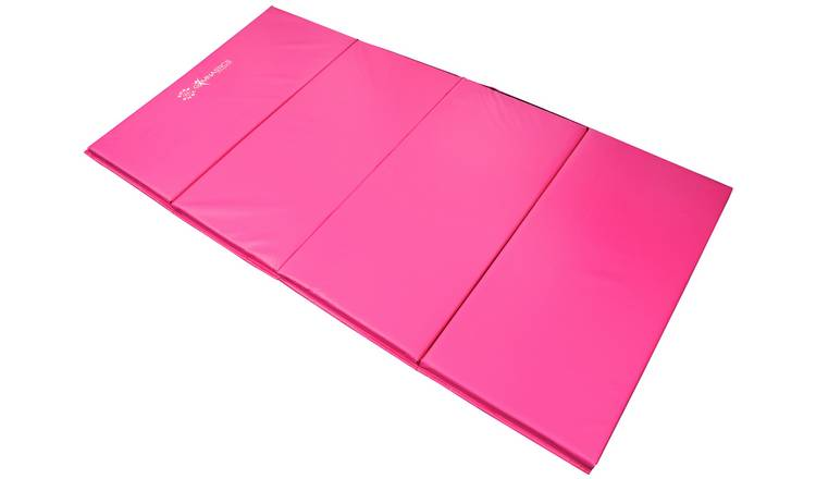 Sure Shot 50mm Thickness FD50 Foldable Gym Mat - Pink