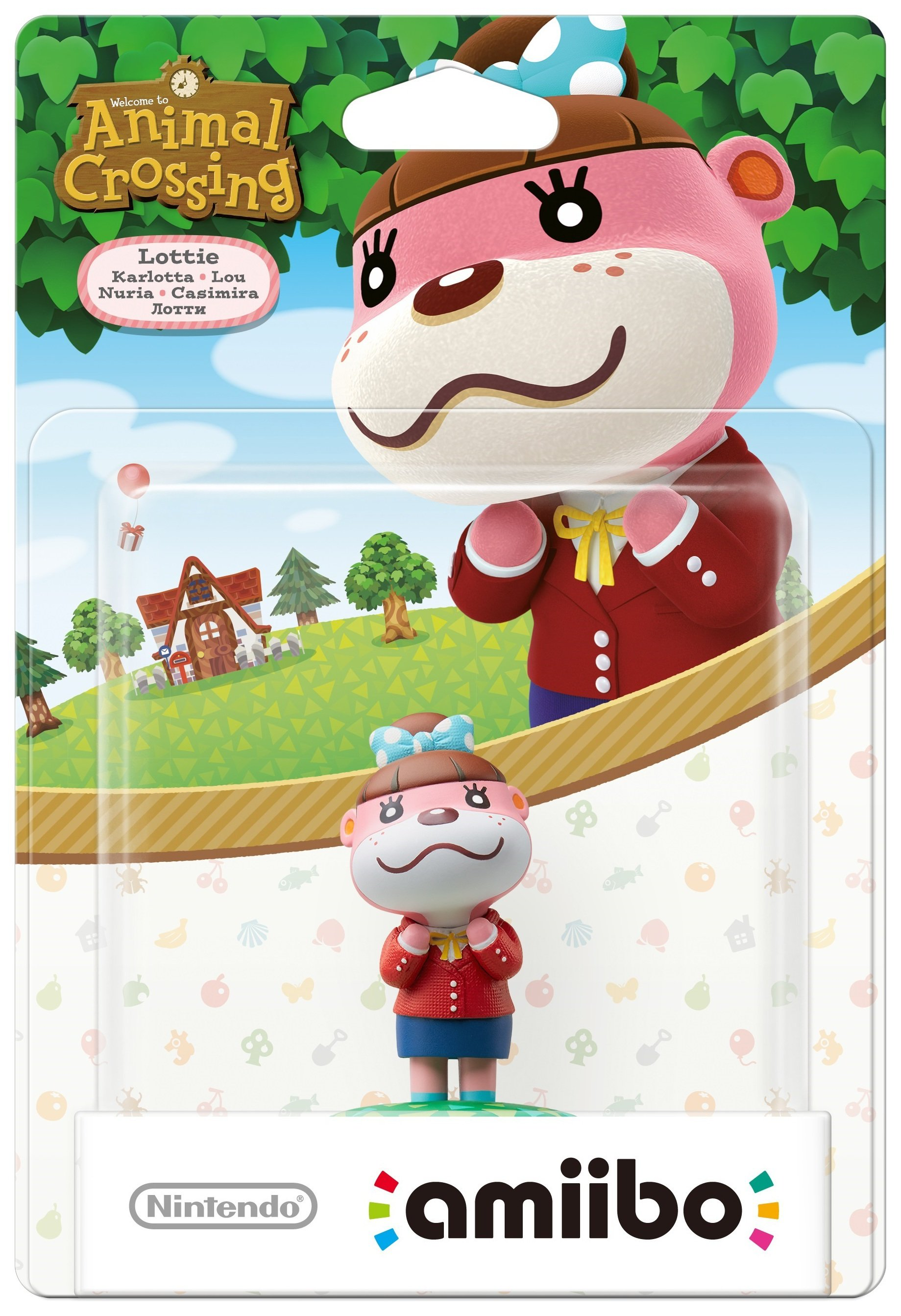 Image of amiibo Animal Crossing Figure - Lottie