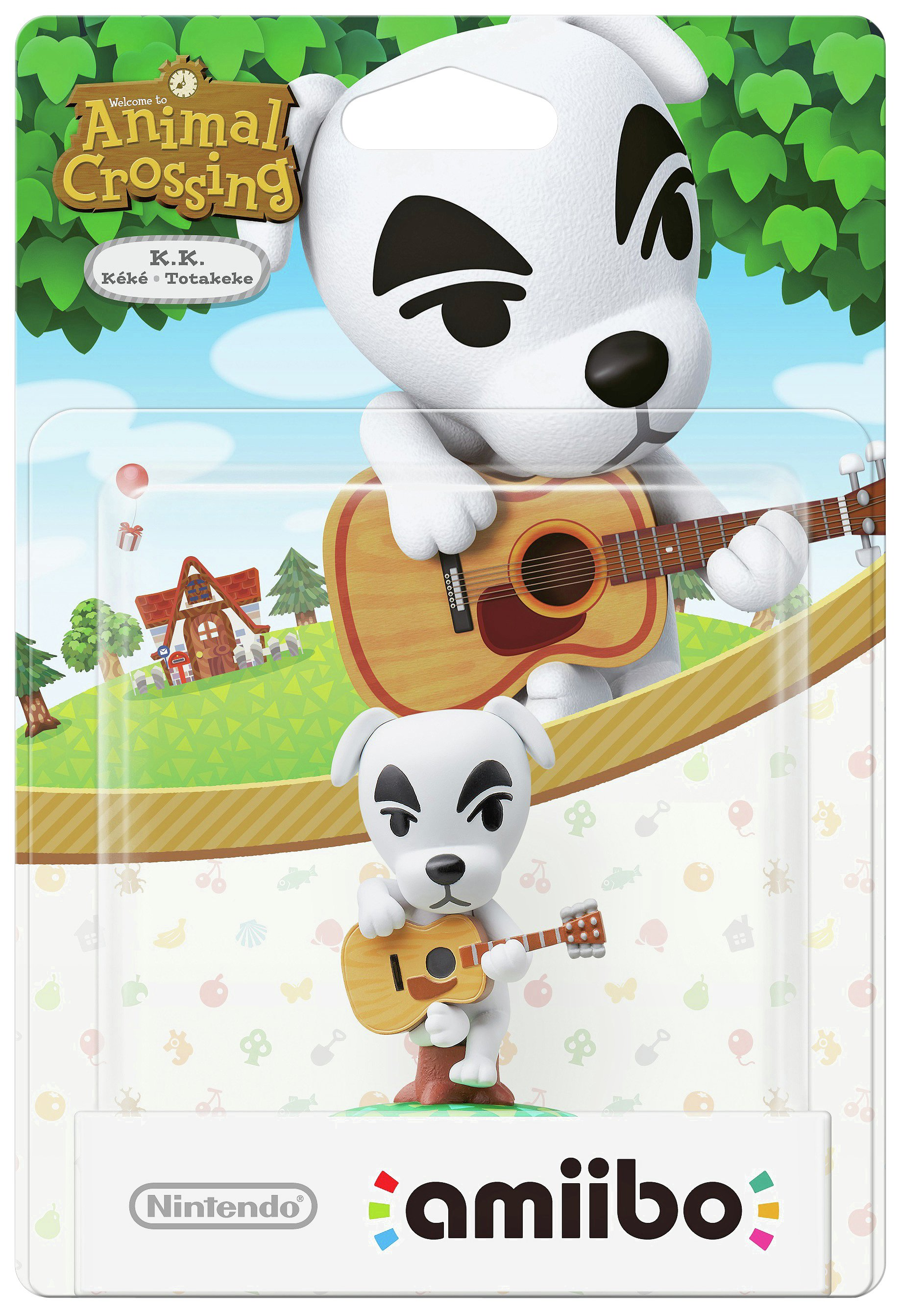 Image of amiibo Animal Crossing Figure - K.K. Slider