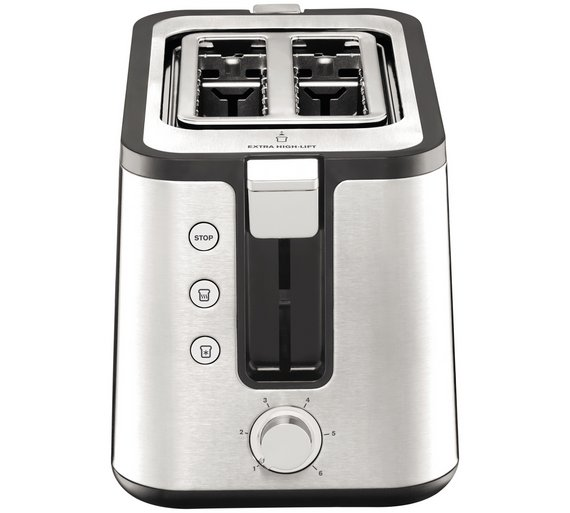 cuisinart compact toaster red