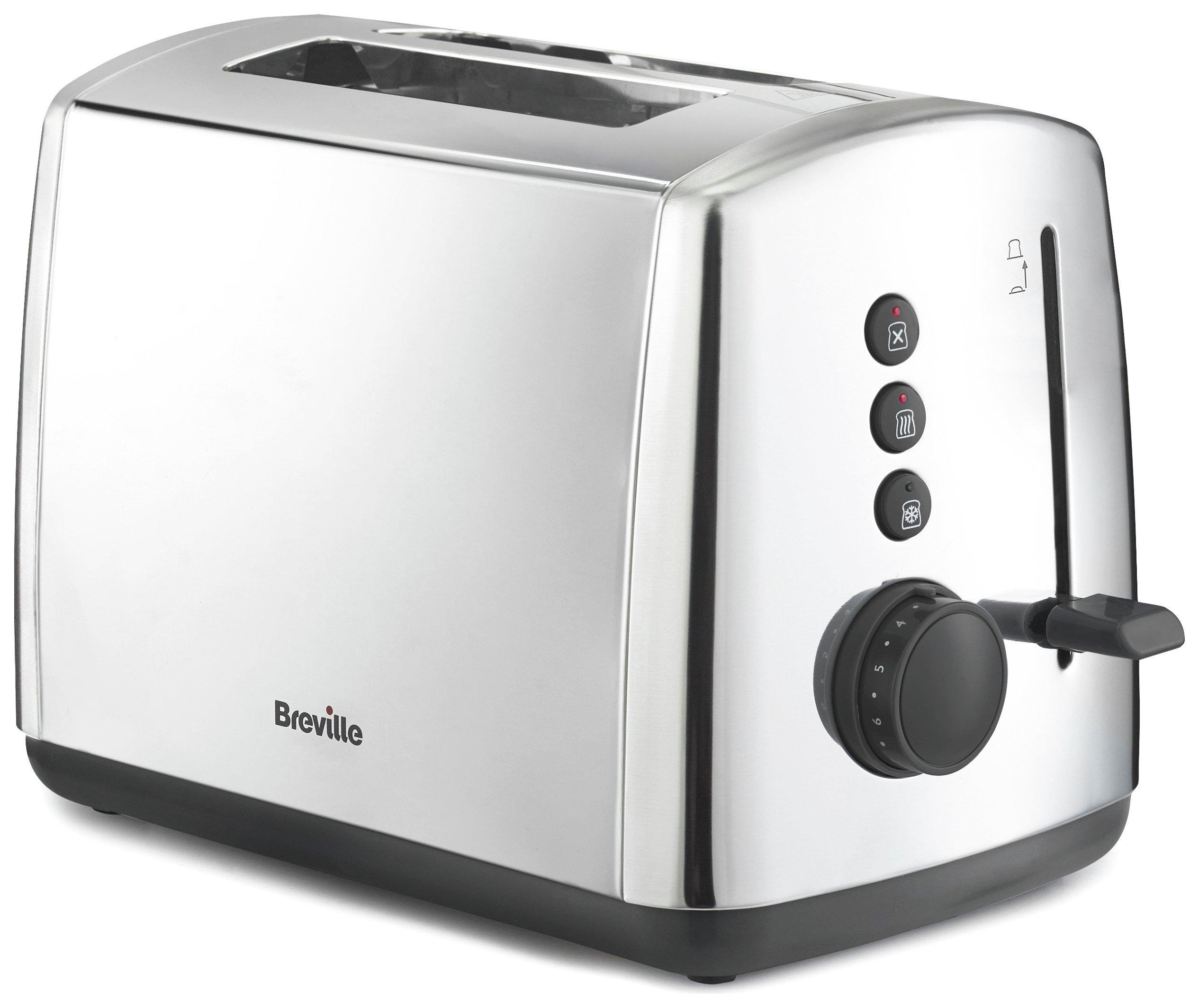 Breville - Toaster - VTT548 - 2 Slice - Stainless Steel