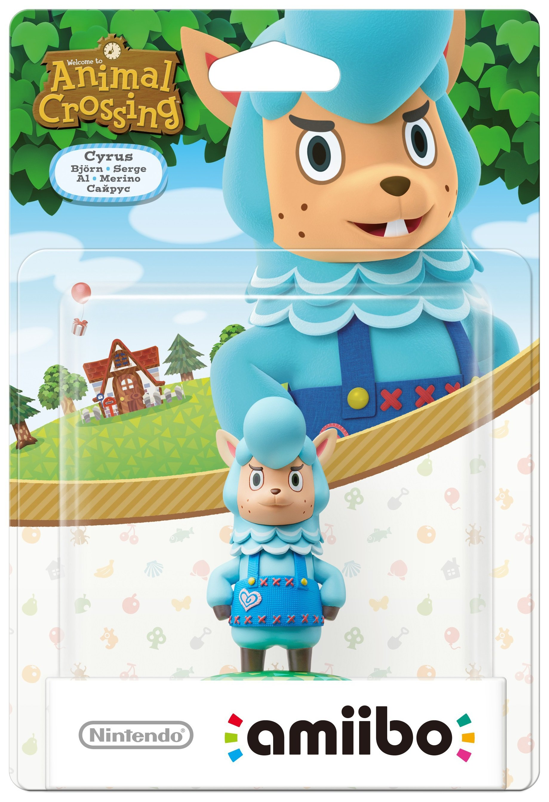 Image of amiibo Animal Crossing Figure - Cyrus