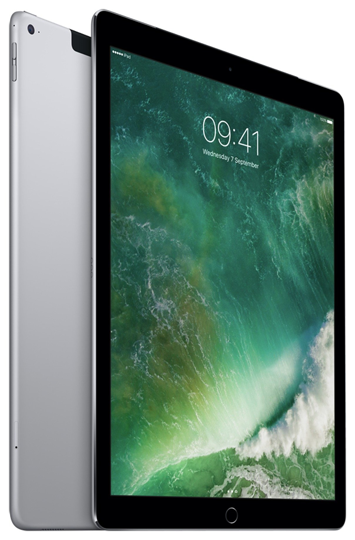 Apple iPad Pro 12 Inch Space Grey Tablet - 128GB. cheapest retail price