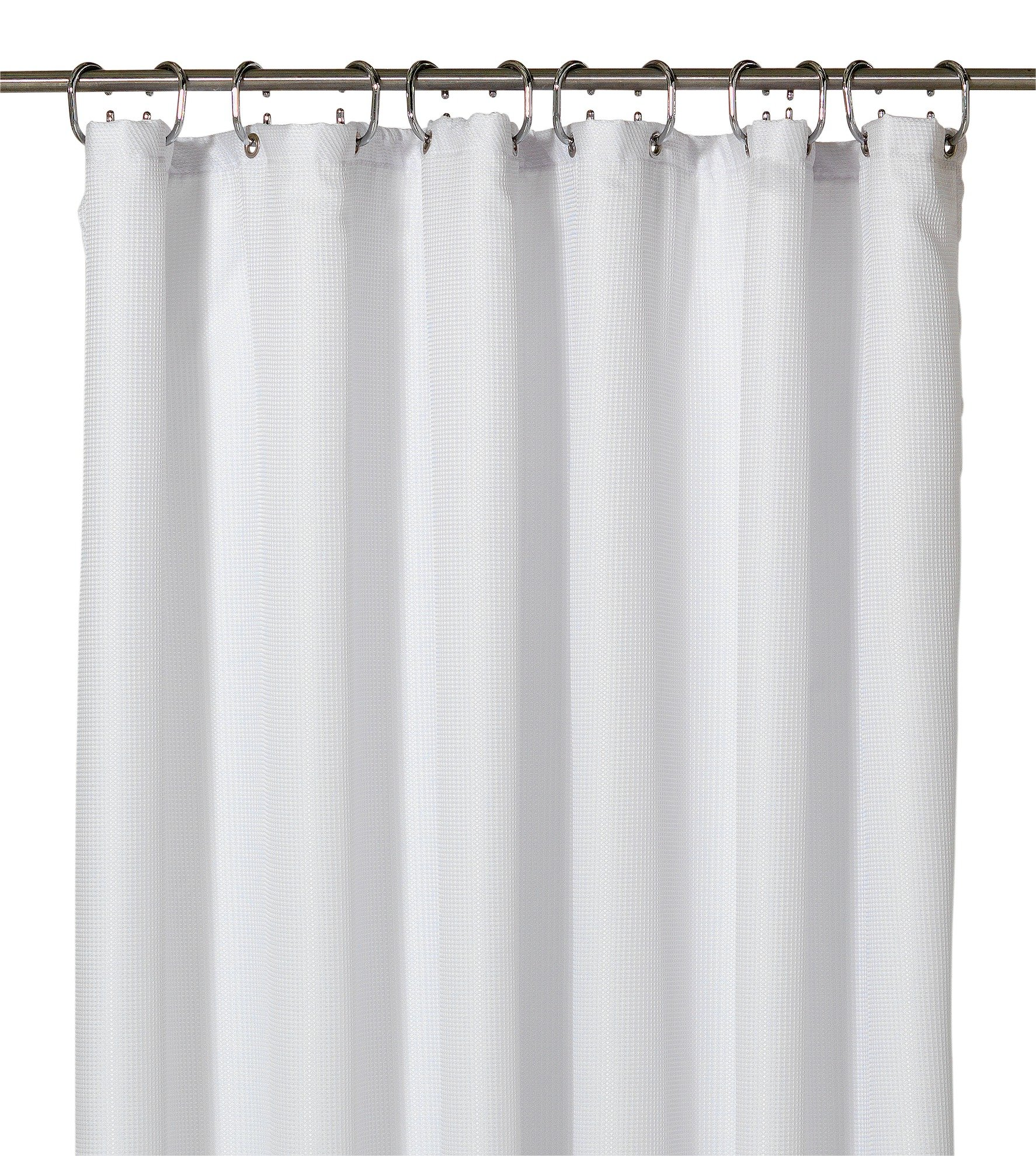 Buy Heart of House Waffle Shower Curtain White at Argoscouk