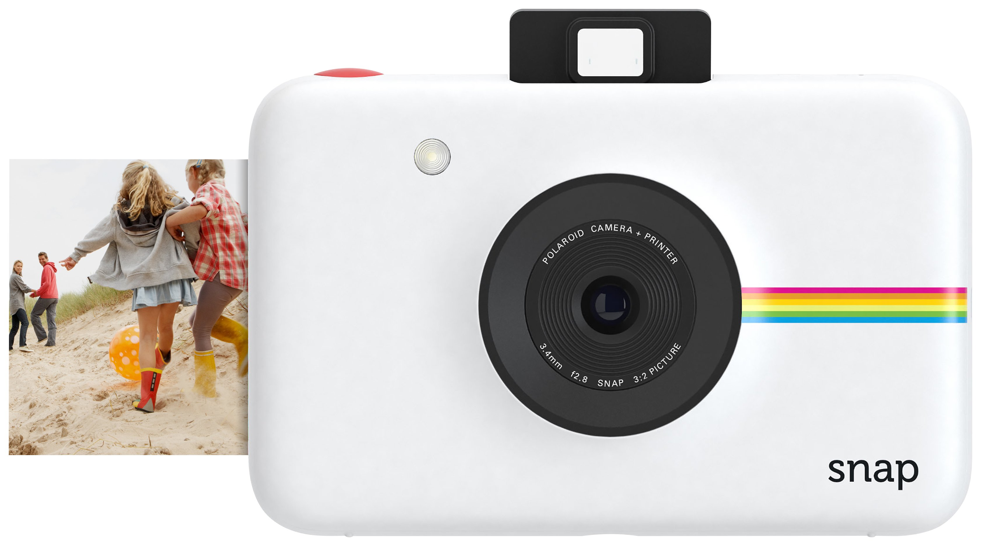 Polaroid Polaroid - SnapInstant Print Digital Camera with 20 shots