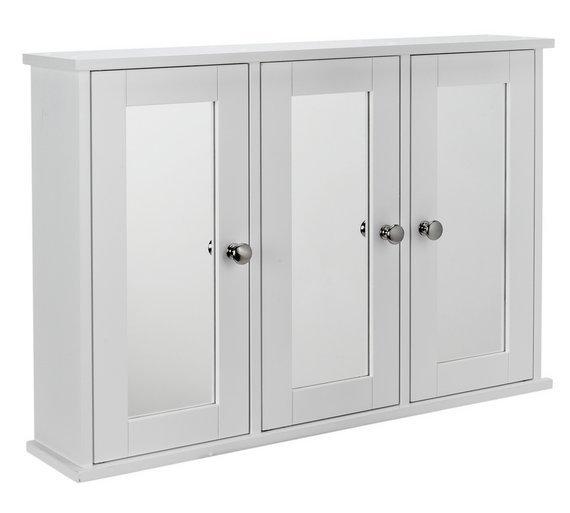 Buy HOME Mirror 3 Door Core Cabinet