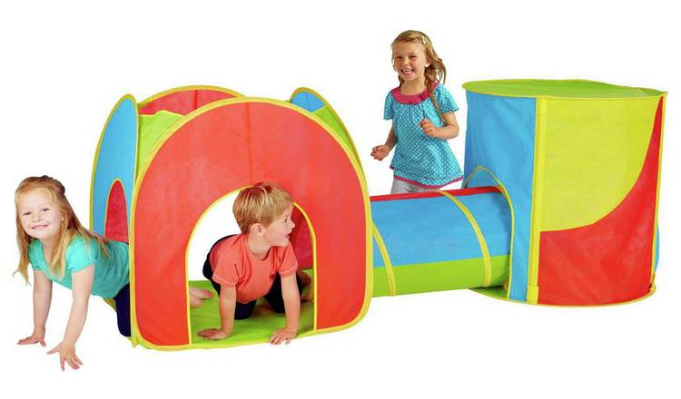 Buy Chad Valley Combo 3 in 1 Play Tent | Play tents and tunnels | Argos
