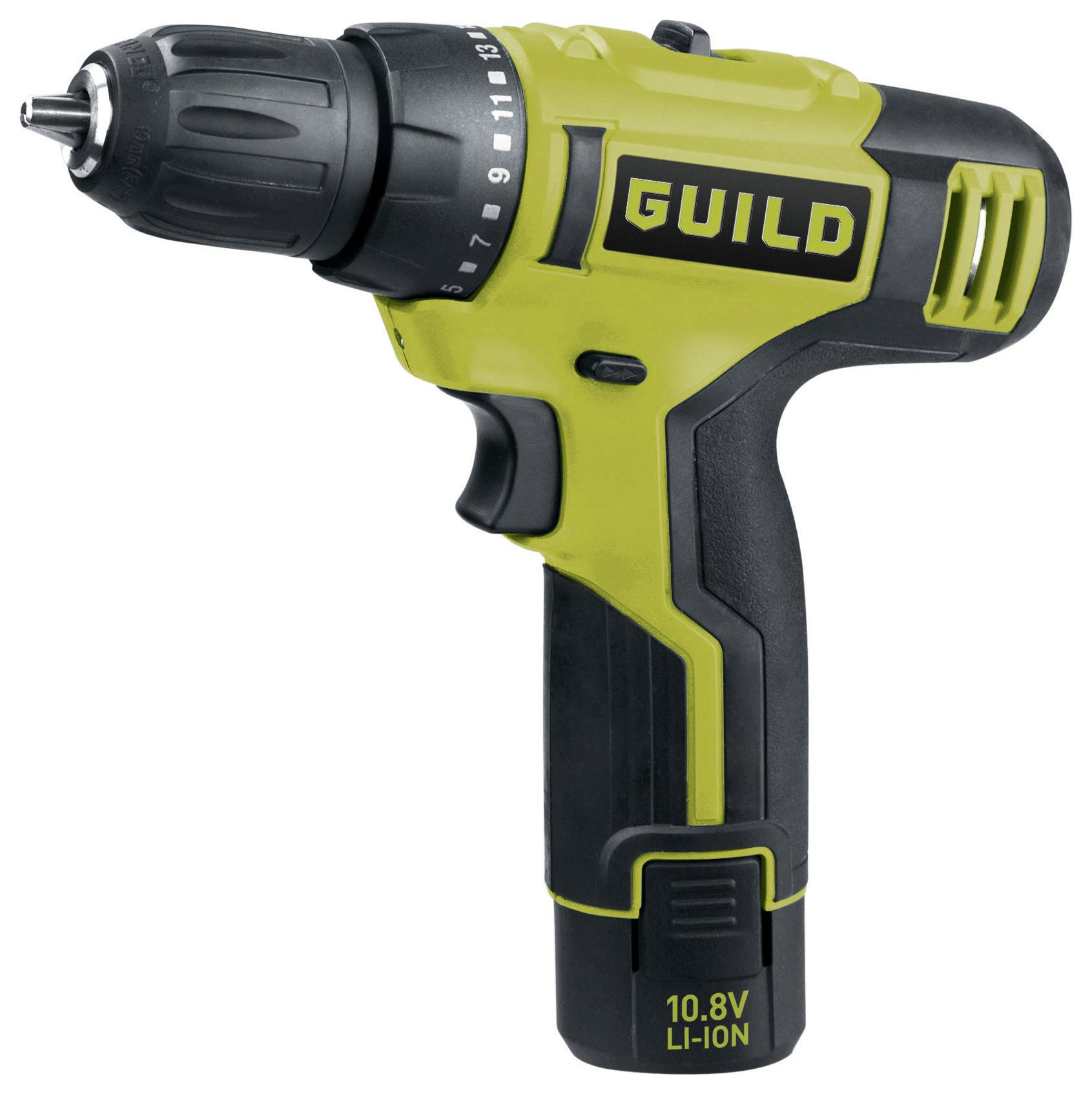 Image of Guild - 13AH Li-Ion Drill Driver - 108V