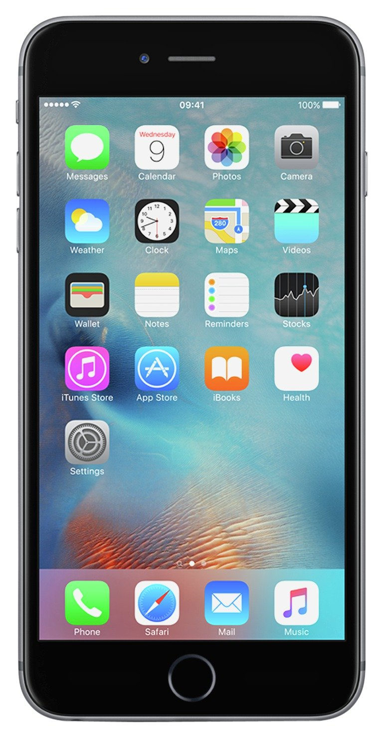 SIM Free iPhone 6S Plus 128GB Mobile Phone -Space Grey
