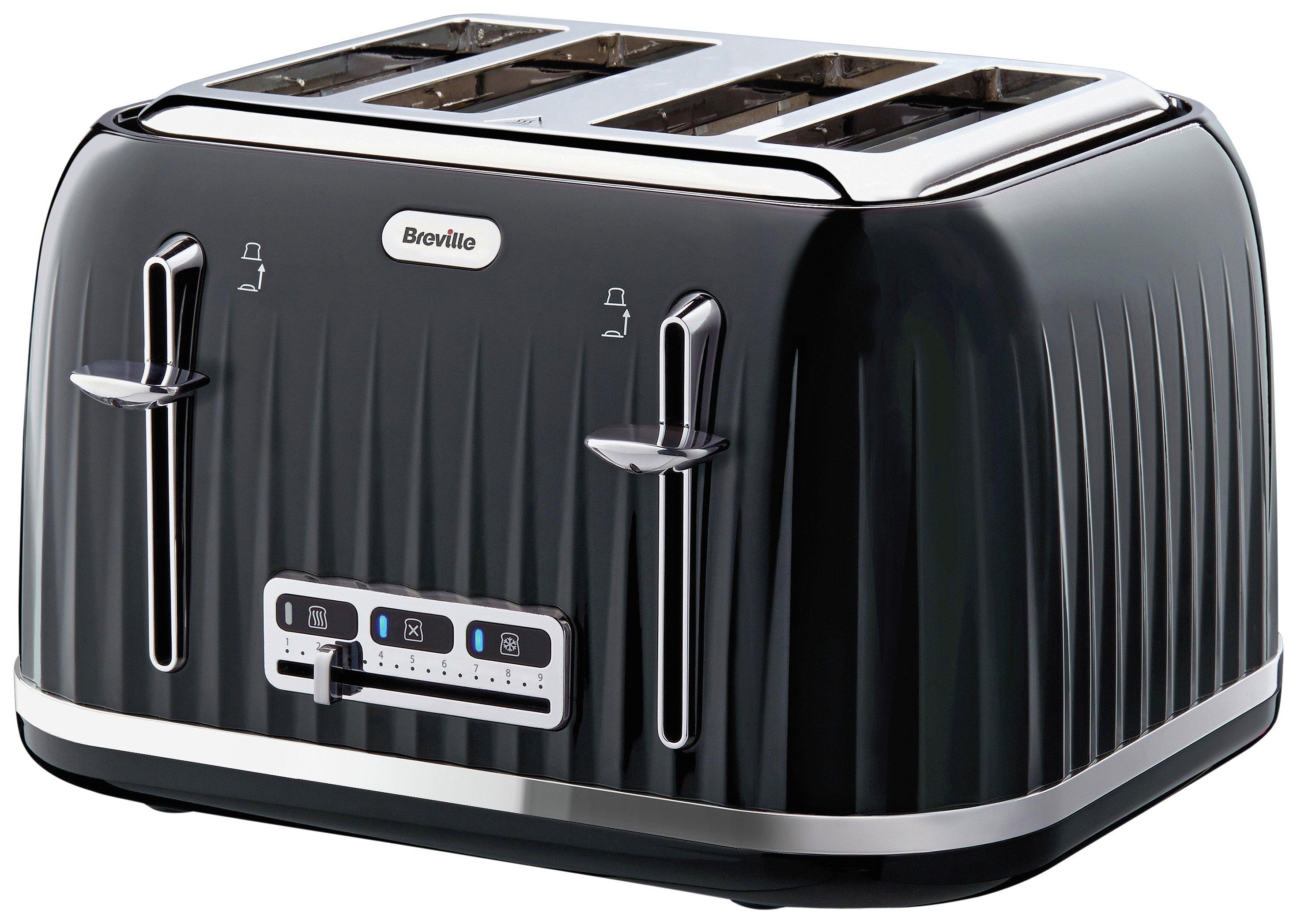 Image of Breville VTT476 Impressions 4 Slice Toaster - Black
