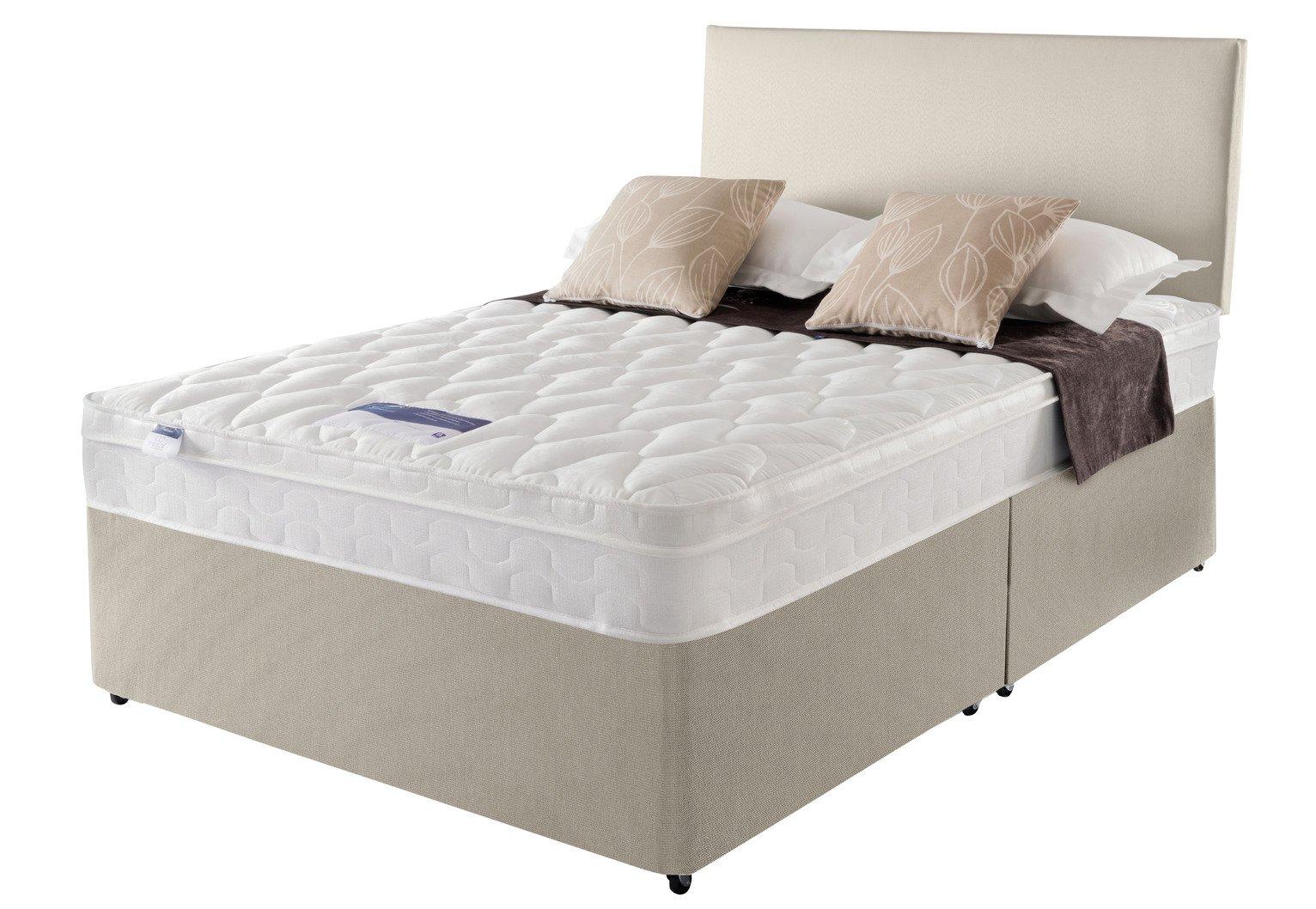 Silentnight Auckland Natural Divan Bed - Superking