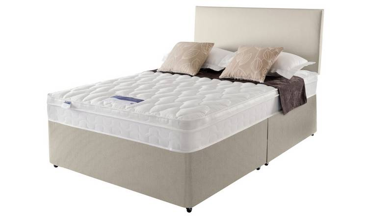 Silentnight Auckland Superking Divan Bed - Natural