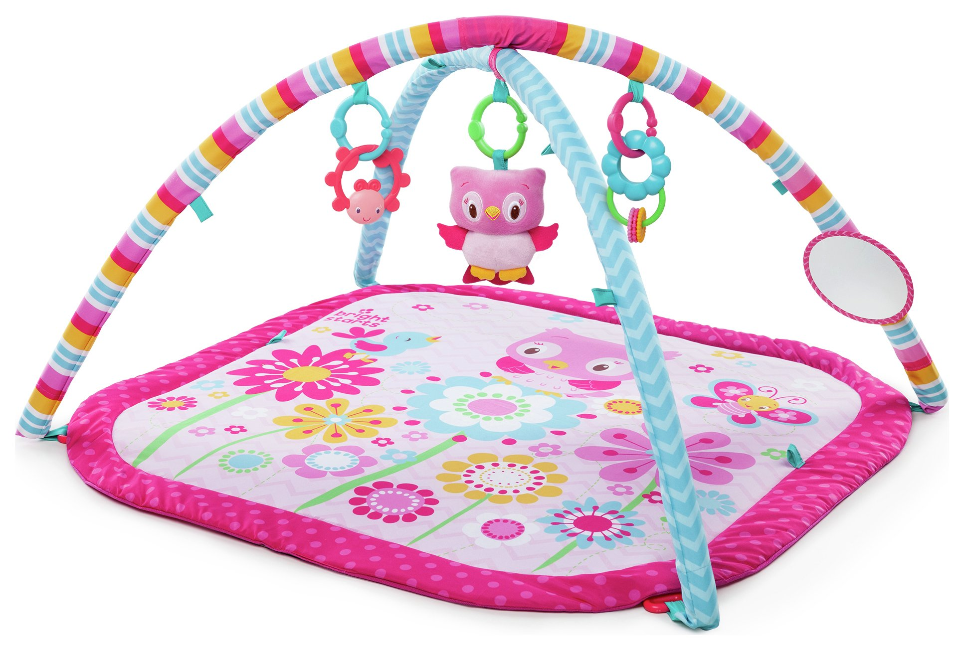 Bright Starts - Pretty in Pink Fancy Flowers Activity Gym