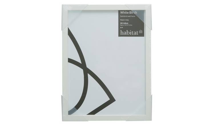 Habitat Birch Frame - White