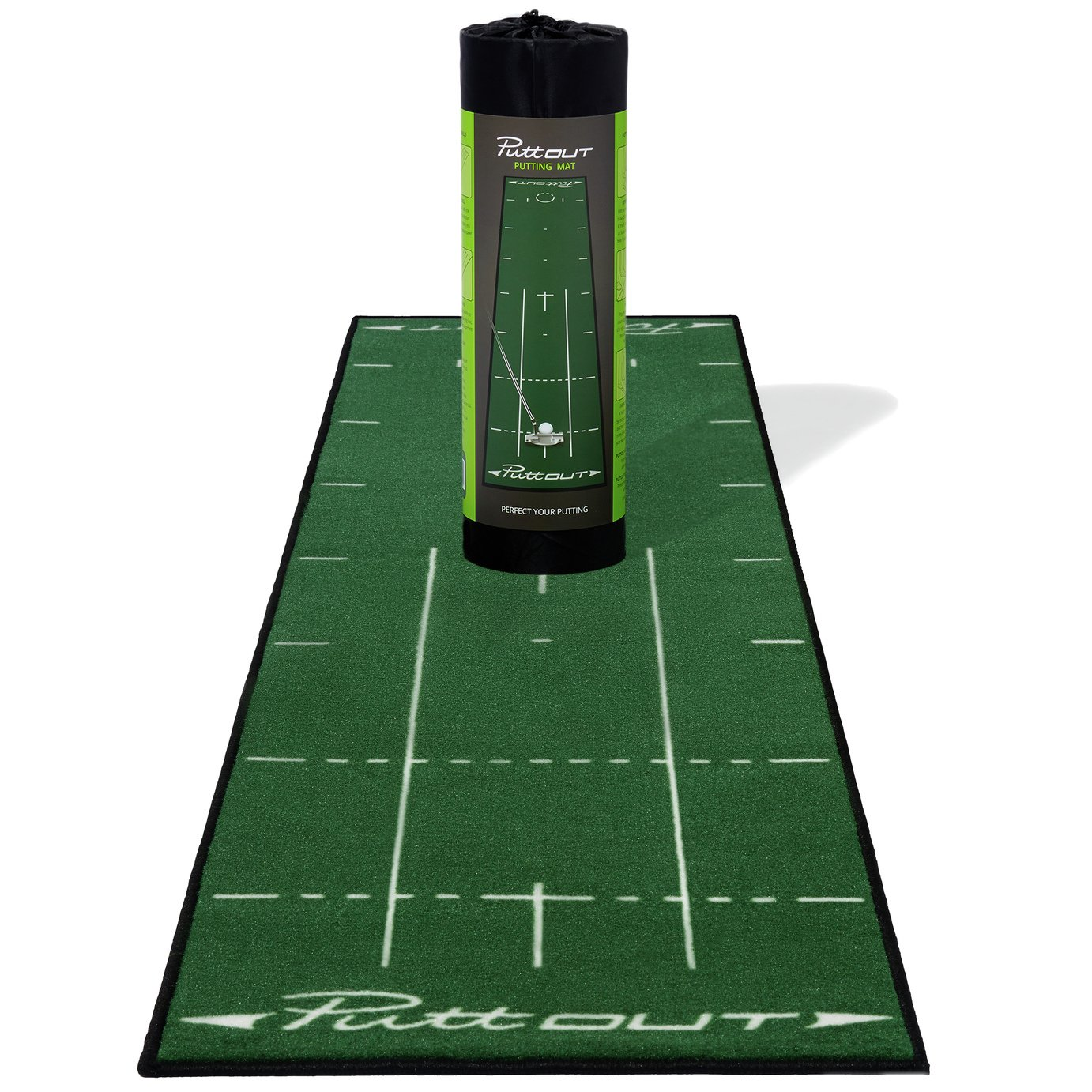 PuttOUT Pro Deluxe Golf Putting Mat