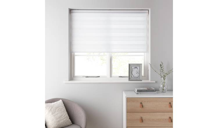 Argos Home Day and Night Roller Blind - 3ft - White