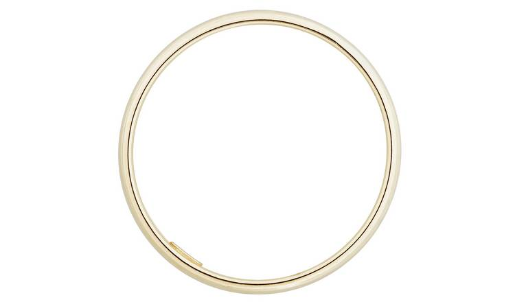 Revere 9ct Gold Rolled Edge Wedding Ring - 2mm - L