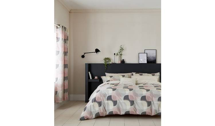 Helena Springfield Blush Arken Bedding Set - Kingsize