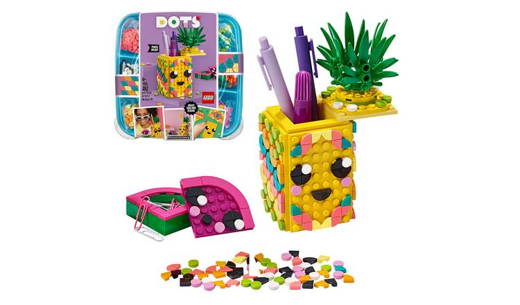 LEGO DOTS Pineapple Pencil Holder DIY Craft Set - 41906