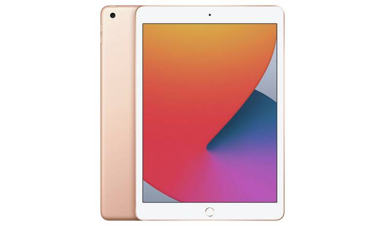 Apple iPad 8th Gen 2020 10.2in Wi-Fi 128GB - Gold